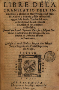 Llibre de la translació